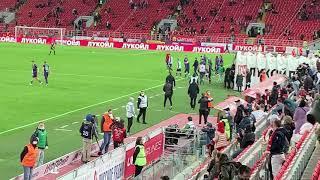 «Спартак» - «Уфа»: что было сразу после матча