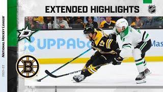 Dallas Stars vs Boston Bruins   Oct.16, 2021   Game Highlights   NHL 2022   Обзор матча