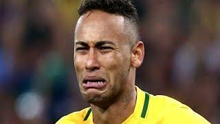 Футбол. Бразилия  Коста - Рика. Обзор матча. Неймар плачет