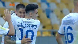 УПЛ | Чемпионат Украины по футболу 2021 | Динамо - Верес -1:0. Видео гола Попова (4`)