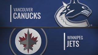 Обзор матча Ванкувер Винипег 04.10 нхл обзор матчей | обзор нхл | нхл обзор матчей сегодня НХЛ