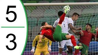 Portugal vs Italy 5-3 Extended Highlights & Goals 2021 - EURO U-21