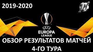 ЛИГА ЕВРОПЫ: ОБЗОР МАТЧЕЙ 4-ГО ТУРА ЛИГИ ЕВРОПЫ УЕФА 6-7.11.2019