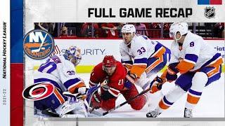 New York Islanders vs Carolina Hurricanes | Oct.14, 2021 | Game Highlights | NHL 2022 | Обзор матча
