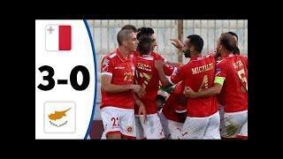 ???? Мальта - Кипр 3-0 - Обзор Отборочного Матча Чемпионат Мира 01/09/2021 HD ????