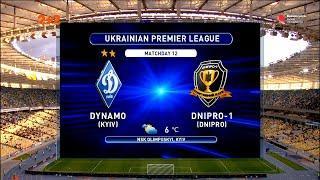 УПЛ | Чемпионат Украины по футболу 2021 | Динамо – Днепр-1 - 2:0. Обзор матча