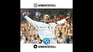 Девид Бэкхем, гол сборной Греции. David Beckham, the goal of the Greek national team.