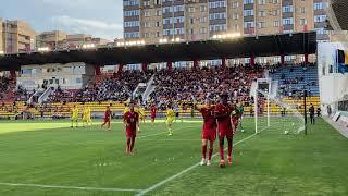 Казахстан U-21 — Бельгия U-21   Гол сборной Бельгии с бровки   сборная Казахстана   Актобе