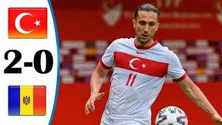 ???? Турция - Молдавия 2-0 - Обзор Товарищеского Матча 03/06/2021 HD ????