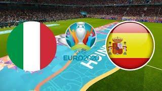 ИТАЛИЯ ИСПАНИЯ 4-2 ОБЗОР МАТЧА ЕВРО 06.07.2021 ФУТБОЛ ВИДЕО ГОЛЫ СЕРИЯ ПЕНАЛЬТИ ПОЛУФИНАЛ FIFA 21