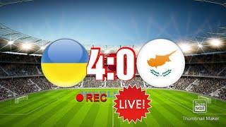 Украина vs Кипр обзоры матча.  07.06.2021.  4:0