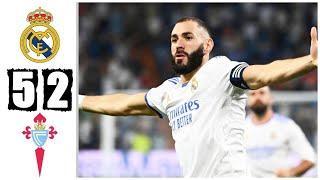 Реал Мадрид 5 -2 Сельта Обзор матча!