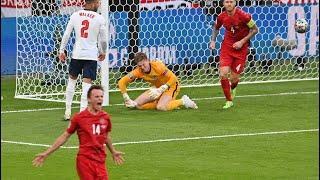 Англия — Дания 2:1. Евро-2020. Обзор матча, все голы и лучшие моменты ( euro 2020 )