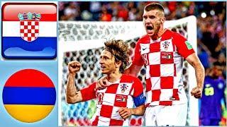 Croatia vs Armenia - All Goals & Extended Highlights