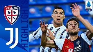 Cagliari 1-3 Juventus   Ronaldo's First-Half Hat-Trick Seals Comfortable Victory   Serie A TIM