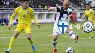 Финляндия-Казахстан 1-0. Обзор матча. Отборочный турнир ЧМ 2022.