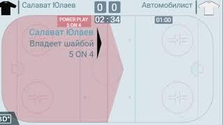 Салават Юлаев-Автомобилист КХЛ прямая трансляция, видеострим.