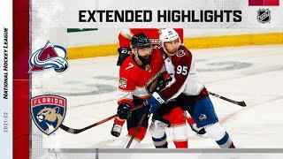 Colorado Avalanche vs Florida Panthers   Oct.21, 2021   Game Highlights   NHL 2022   Обзор матча