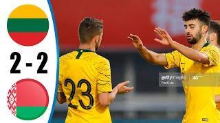 Lithuania vs Belarus 2-2 All Goals & Highlights 2020