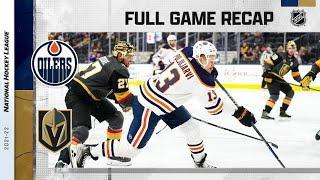 Edmonton Oilers vs Vegas Golden Knights   Oct.22, 2021   Game Highlights   NHL 2022   Обзор матча