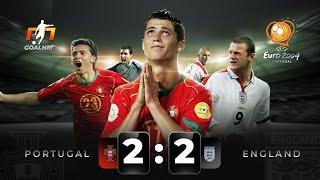 Роналду, Руни, Фигу, Бекхэм... Португалия - Англия на Евро 2004