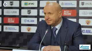Пресс-конференция после матча «Лада» – «Динамо СПб» 10.10.2020