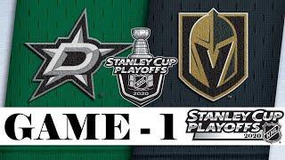 Даллас Старз и Вегас Голден Найтс | Финал Западной Конференции | Game 1 | Stanley Cup 2020 | Обзор