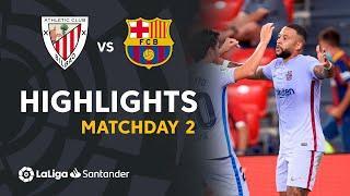 Resumen de Athletic Club vs FC Barcelona (1-1)