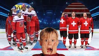 Хоккей Чехия-Швейцария Чемпионат мира по хоккею 2021 в Риге (симуляция в НХЛ 21)