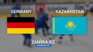 Видеообзор матча Германия - Казахстан. Юниорский чемпионат мира по хоккею