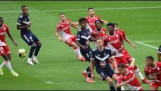 МОНАКО БОРДО 3-0 - ОБЗОР ГОЛЫ МАТЧА Лига 1 Франция HIGHLIGHTS