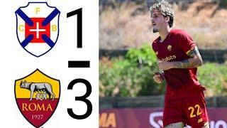 Товарищеский матч: Белененсеш 1 - 3 Рома | видео голов и обзор матча