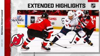 Washington Capitals vs New Jersey Devils   Oct.21, 2021   Game Highlights   NHL 2022   Обзор матча