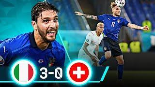 ОЧЕРЕДНОЙ РАЗГРОМ! Обзор матча Италия - Швейцария 3:0 | ЕВРО 2020