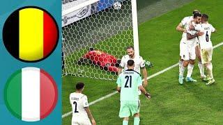 БЕЛЬГИЯ - ИТАЛИЯ. ЕВРО-2020 ЧЕТВЕРТЬФИНАЛ. ОБЗОР | FIFA-Ванга прогноз