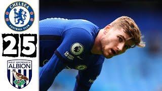 ???? Вест Бромвич - Челси 5-2 - Обзор Матча Чемпионата Англии 03/04/2021 HD ????