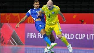 Обзор матча Бразилия - Казахстан - 4:2. Чемпионат мира. Матч за третье место