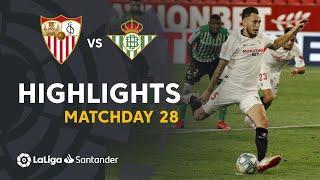Highlights Sevilla FC vs Real Betis (2-0)