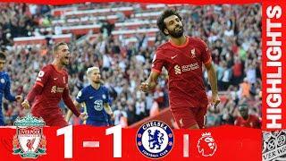 Highlights: Liverpool 1-1 Chelsea | Salah seals a draw