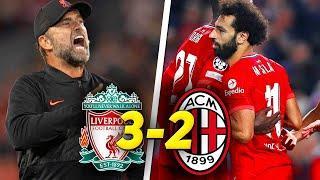 ОГНЕННЫЙ МАТЧ! Ливерпуль Милан 3:2 / Обзор матча Лиги Чемпионов