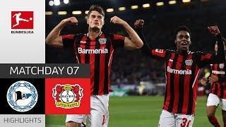 Arminia Bielefeld - Bayer 04 Leverkusen 0-4   Highlights   Matchday 7 – Bundesliga 2021/22