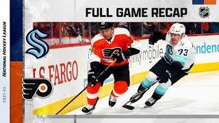 Seattle Kraken vs Philadelphia Flyers   Oct.18, 2021   Game Highlights   NHL 2022   Обзор матча