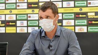 Пресс-конференция после матча «Краснодар» - «Урал»
