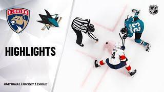 Florida Panthers vs San Jose Sharks | Feb.17, 2020 | Game Highlights | NHL 2019/20 | Обзор матча