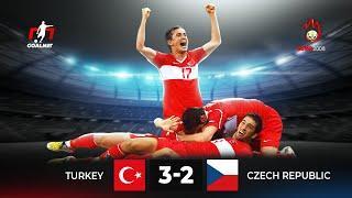 Самый БЕЗУМНЫЙ КАМБЭК на Евро 2008. Турция 3-2 Чехия