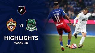 Highlights CSKA vs FC Krasnodar (0-0) | RPL 2021/22