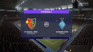 FC Basel vs Dynamo Kyiv (01/07/2021) Club Friendlies FIFA 21