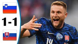 ???? Словения - Словакия 1-1 - Обзор Отборочного Матча Чемпионат Мира 02/09/2021 HD ????