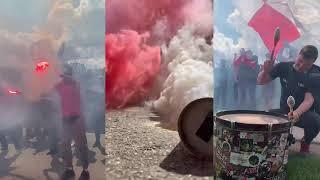 Supporters Group в Тарасовке: Конец карантина, шизим на базе «Спартака», напутствие игрокам
