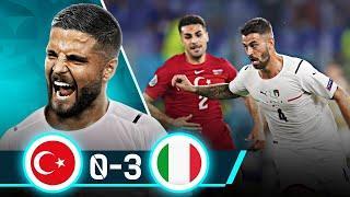 ВЕЛИКОЛЕПНАЯ Скуадра Адзурра! Обзор матча Турция - Италия 0:3 | ЕВРО 2020